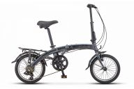 Складной городской велосипед  Stels Pilot 370 16 V010 (2019)
