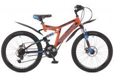 Велосипед Stinger Highlander 100D 24 (2017)