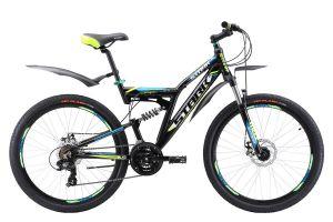 Велосипед Stark Jumper 26.1 FS D (2017)