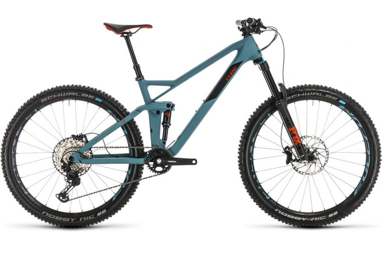 Велосипед Cube Stereo 140 HPC Race 27.5 (2020)
