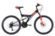 Подростковый велосипед  Black One Ice FS 24 D (2018)