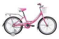 Детский велосипед  Novatrack Girlish Line 20 (2019)
