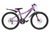 Подростковый велосипед   Novatrack Katrina 24 Disc (2020)