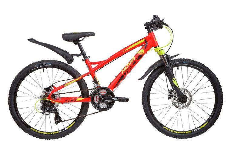 Велосипед Novatrack Tornado 24 HD (2019)