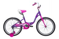 Детский велосипед от 5 до 9 лет  Novatrack Angel 20 (2019)