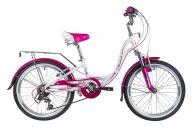 Детский велосипед от 5 до 9 лет  Novatrack Angel 20 6sp (2019)