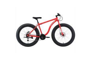 Велосипед Black One Monster 26 D красный/белый 2020-2021