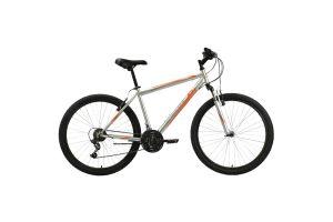 Велосипед Black One Onix 26 серебристый/оранжевый 2020-2021