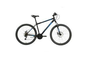 Велосипед Black One Onix 27.5 D чёрный/синий/серый 2020-2021