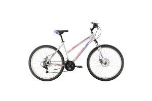 Велосипед Black One Alta 26 D серебристый/фиолетовый/розовый 2020-2021