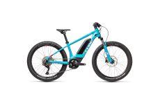 Велосипед CUBE ACID 240 HYBRID Rookie SL 400 24 (petrol'n'white) 2021