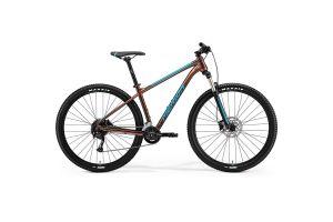Велосипед Merida Big.Nine 100 3x Bronze/Blue 2021