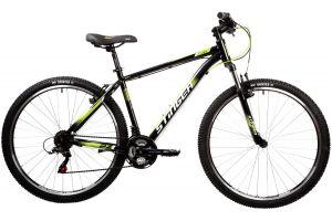 """Велосипед STINGER 27.5"""" CAIMAN черный, сталь, размер 16"""""""