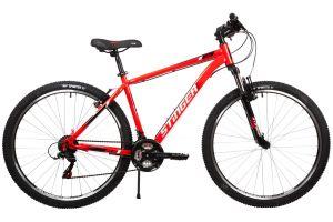 """Велосипед STINGER 27.5"""" CAIMAN красный, сталь, размер 16"""""""
