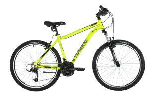 "Велосипед STINGER 26"" ELEMENT STD зеленый, алюминий, размер 18"", MICROSHIFT"
