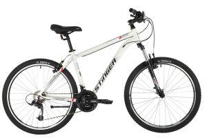 "Велосипед STINGER 26"" ELEMENT STD белый, алюминий, размер 18"", MICROSHIFT"
