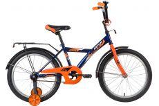 "Велосипед NOVATRACK 20"" ASTRA синий, тормоз нож, крылья, багажник, защита А-тип"