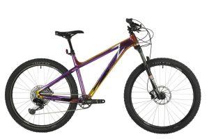 """Велосипед STINGER 27"""" ZETA PRO фиолетово-золотой, алюминий, размер 18"""""""
