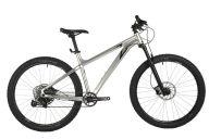 """Горный велосипед  STINGER 27"""" ZETA EVO серебристый, алюминий, размер 18"""""""