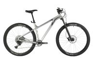 """Горный велосипед  STINGER 29"""" ZETA EVO серебристый, алюминий, размер 18"""""""