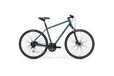 Велосипед Merida Crossway 100 Teal-Blue/Silver-Blue/Lime 2021