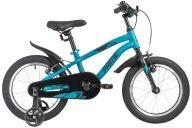 """Детский велосипед  NOVATRACK 16"""" PRIME алюм., синий металлик, полная защита цепи, ножной тормоз, короткие кр"""