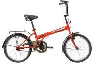 """Складной велосипед  NOVATRACK 20"""" складной, TG30, красный, тормоз 1 руч. и нож.,двойной обод,"""