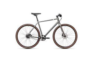 Велосипед CUBE 2021 EDITOR (grey'n'silver) 2021