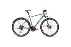 Велосипед CUBE NATURE EXC (green'n'bluegreen) 2021