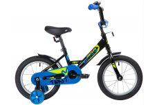 """Велосипед NOVATRACK 14"""" TWIST черный, тормоз нож, крылья корот, полная защ.цепи"""