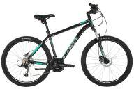 """Горный велосипед  STINGER 26"""" ELEMENT PRO зеленый, алюминий, размер 16"""", MICROSHIFT"""