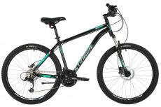 "Велосипед STINGER 26"" ELEMENT PRO зеленый, алюминий, размер 18"", MICROSHIFT"