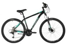 "Велосипед STINGER 27.5"" ELEMENT PRO зеленый, алюминий, размер 16"", MICROSHIFT"