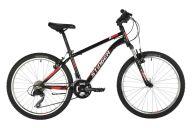 """Подростковый велосипед  STINGER 24"""" CAIMAN черный, сталь, размер 14"""", MICROSHIFT"""