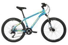 """Велосипед STINGER 24"""" CAIMAN D синий, сталь, размер 14"""", MICROSHIFT"""