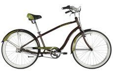 """Велосипед STINGER 26"""" CRUISER 3SM коричневый, алюминий, размер 18"""""""