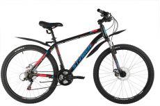 """Велосипед STINGER 26"""" CAIMAN D черный, сталь, размер 16"""""""