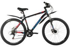 """Велосипед STINGER 26"""" CAIMAN D черный, сталь, размер 18"""""""