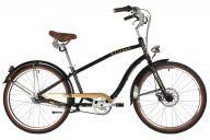 """Горный велосипед  STINGER 26"""" CRUISER 7SM черный, алюминий, размер 18"""""""
