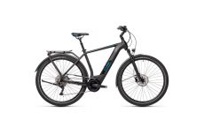 Велосипед CUBE KATHMANDU HYBRID PRO 625 (black'n'blue) 2021