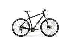 Велосипед Merida Crossway 500 GlossyBlack/MattSilver 2021