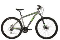 "Горный велосипед  STINGER 27.5"" GRAPHITE EVO серый, алюминий, размер 16"""