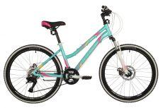 """Велосипед STINGER 24"""" LAGUNA D зеленый, алюминий, размер 14"""", MICROSHIFT"""