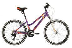 """Велосипед STINGER 24"""" LAGUNA фиолетовый, алюминий, размер 14"""", MICROSHIFT"""