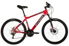 """Велосипед STINGER 26"""" BAT красный, алюминий, размер 18"""""""