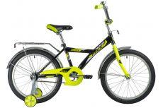 """Велосипед NOVATRACK 20"""" ASTRA чёрный, тормоз нож, крылья и багажник хром, защита А-тип"""